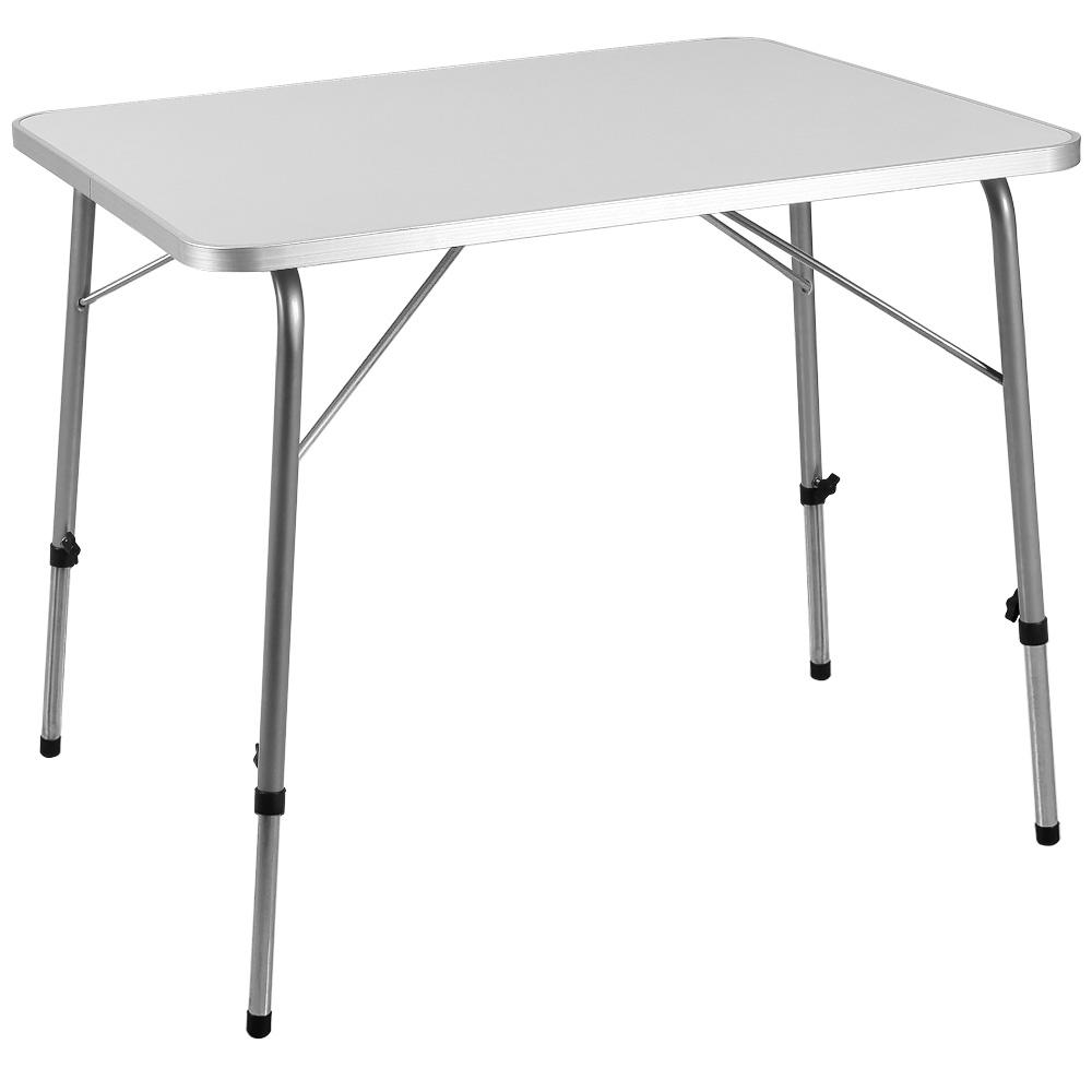 88101446 Alu Tisch klappbar + höhenverstellbar 80 cm x 60 cm
