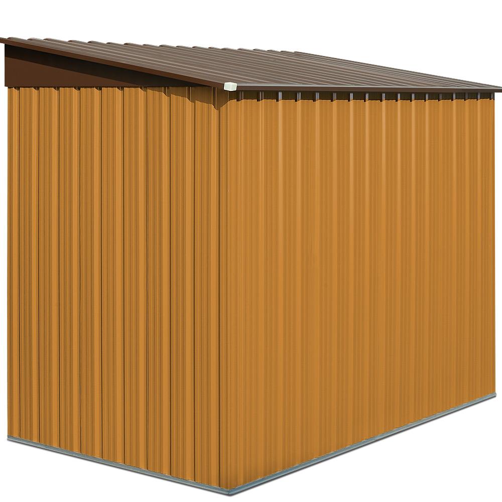 b ware gartenhaus ger tehaus metall ger teschuppen haus. Black Bedroom Furniture Sets. Home Design Ideas