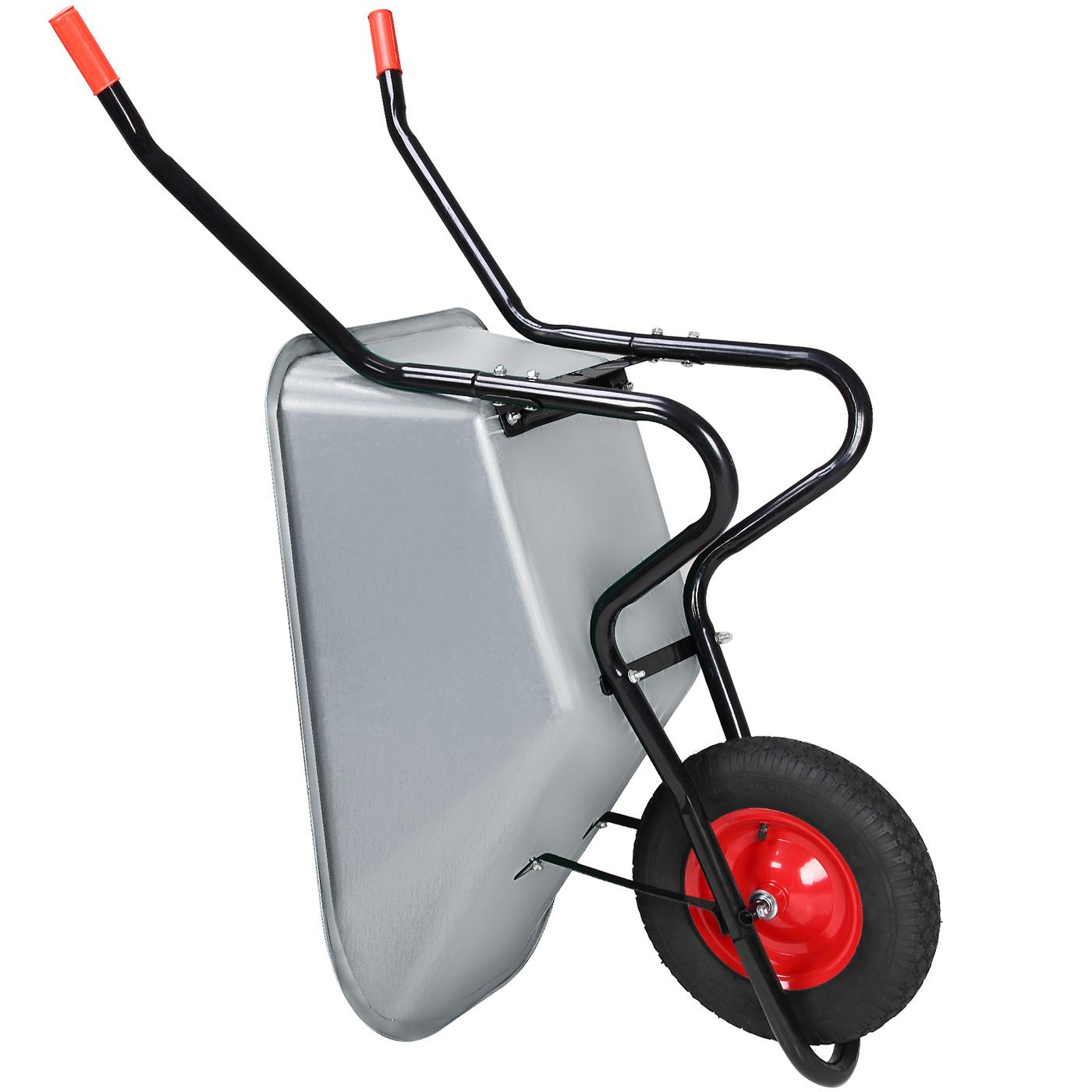 brouette de chantier remorque chariot transport 200 kg. Black Bedroom Furniture Sets. Home Design Ideas