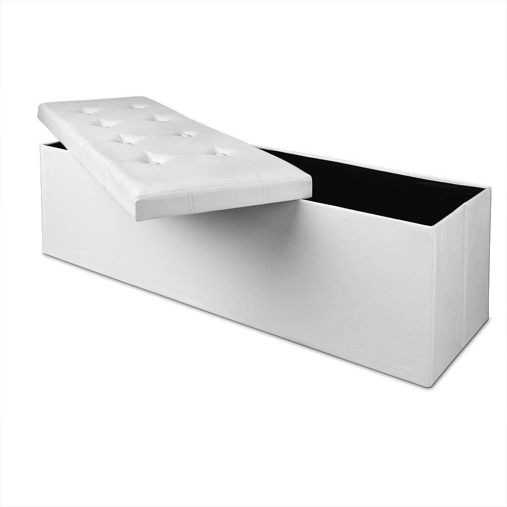 ottomane sitzhocker sitztruhe sitzbank aufbewahrungsbox. Black Bedroom Furniture Sets. Home Design Ideas