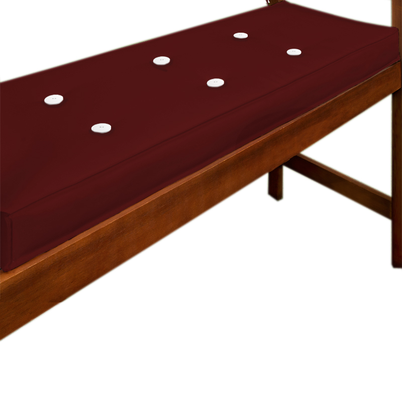 88101645 Sitzauflage 110 cm x 45 cm rot
