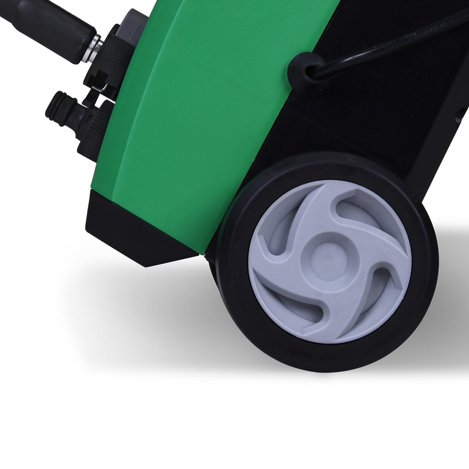 nettoyeur haute pression compact avec ses accessoires 1500 watt 105 bar ebay. Black Bedroom Furniture Sets. Home Design Ideas