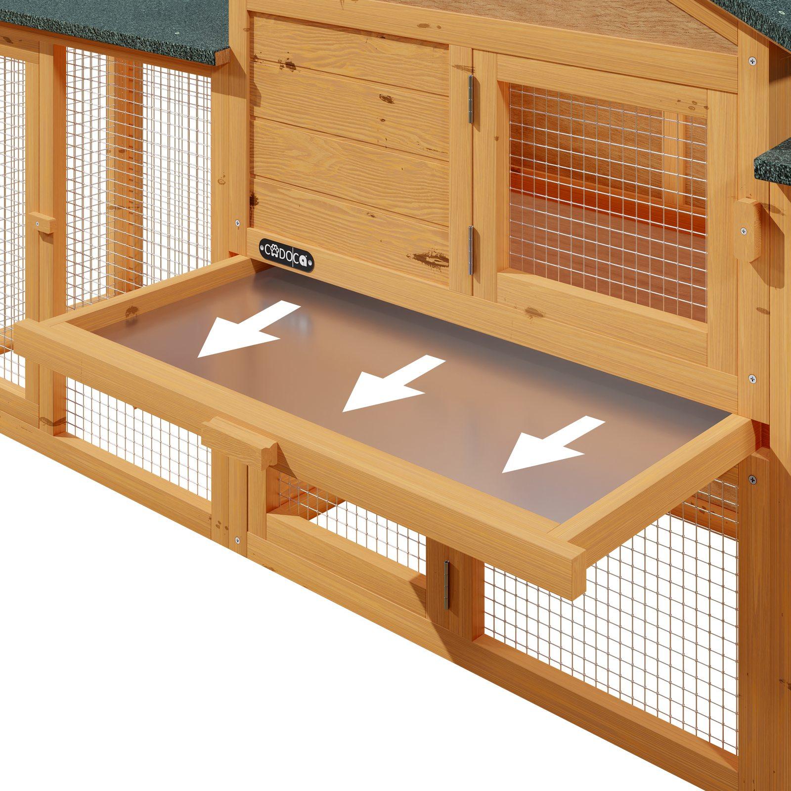 clapier lapin cage rongeurs modulable sur 2 tages. Black Bedroom Furniture Sets. Home Design Ideas