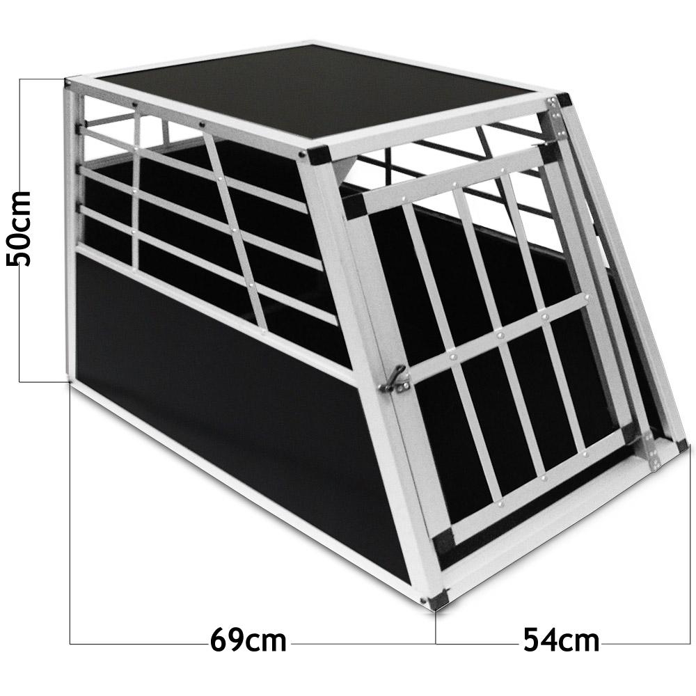 hundebox xl transportbox hundetransportbox alubox autobox. Black Bedroom Furniture Sets. Home Design Ideas