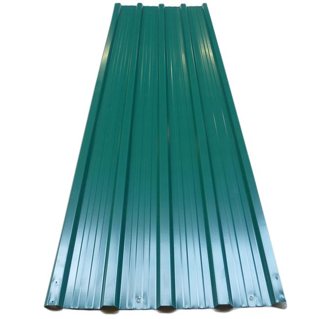 88101918 12x Trapezblech grün 129x45cm = 7 m²