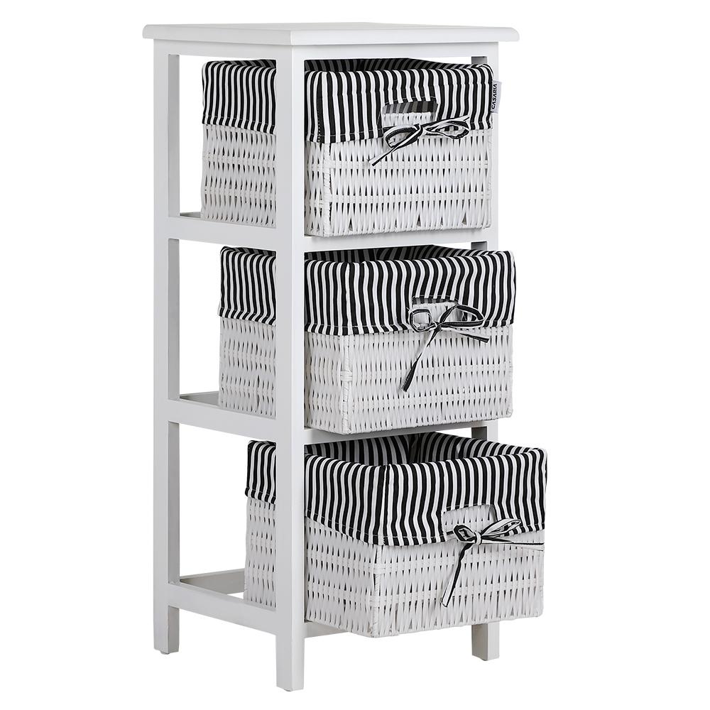 b ware korbregal schrank holz kommode wandregal anrichte. Black Bedroom Furniture Sets. Home Design Ideas
