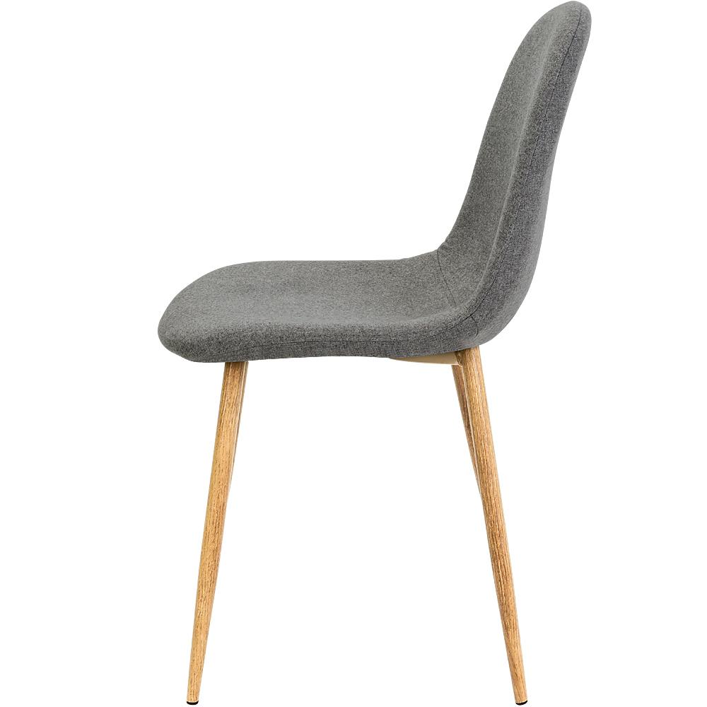 4x deuba esszimmerst hle esszimmerstuhl design stuhl retro for Stuhl metallbeine