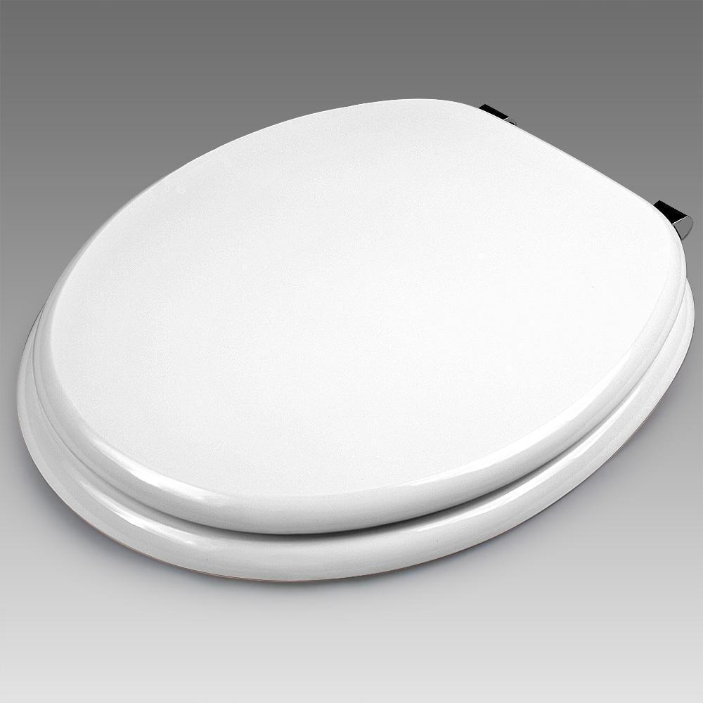 toilettensitz toilettendeckel klobrille klodeckel absenkautomatik edelstahl 4250525319194 ebay. Black Bedroom Furniture Sets. Home Design Ideas