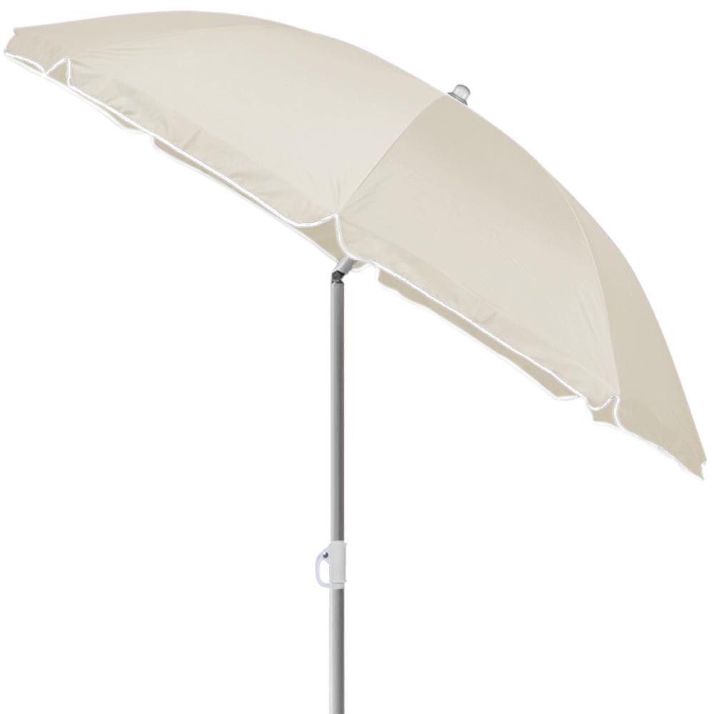 sombrilla de playa paraguas mercado sombrilla parasol jard n paraguas regulable en altura 200cm. Black Bedroom Furniture Sets. Home Design Ideas
