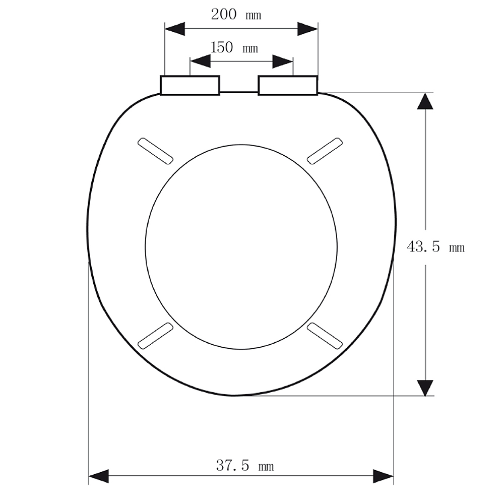 deuba wc sitz toilettensitz toilettendeckel klodeckel klobrille absenkautomatik ebay. Black Bedroom Furniture Sets. Home Design Ideas