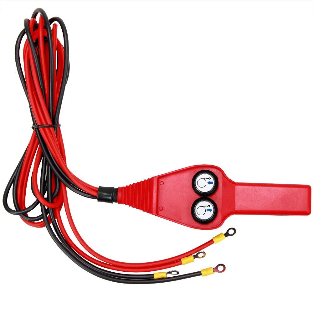 Treuil /électrique 12V 15m de c/âble en acier Charge Traction maximale 907kg