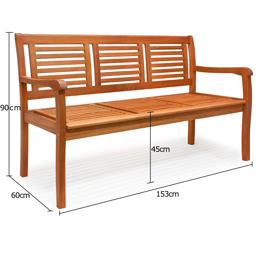 b ware gartenbank bank sitzbank holzbank parkbank garten. Black Bedroom Furniture Sets. Home Design Ideas