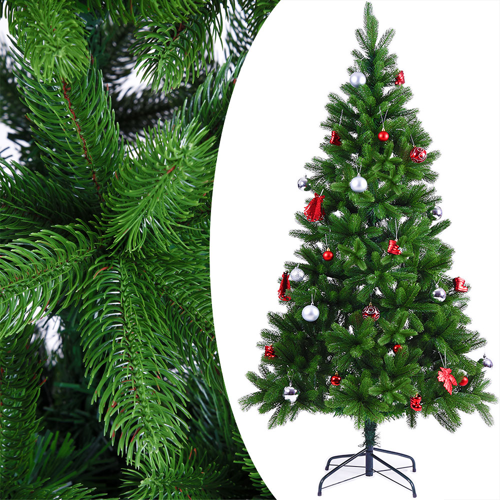 weihnachtsbaum k nstlich edeltanne 180cm spritzguss nadeln pe christbaum tanne ebay. Black Bedroom Furniture Sets. Home Design Ideas