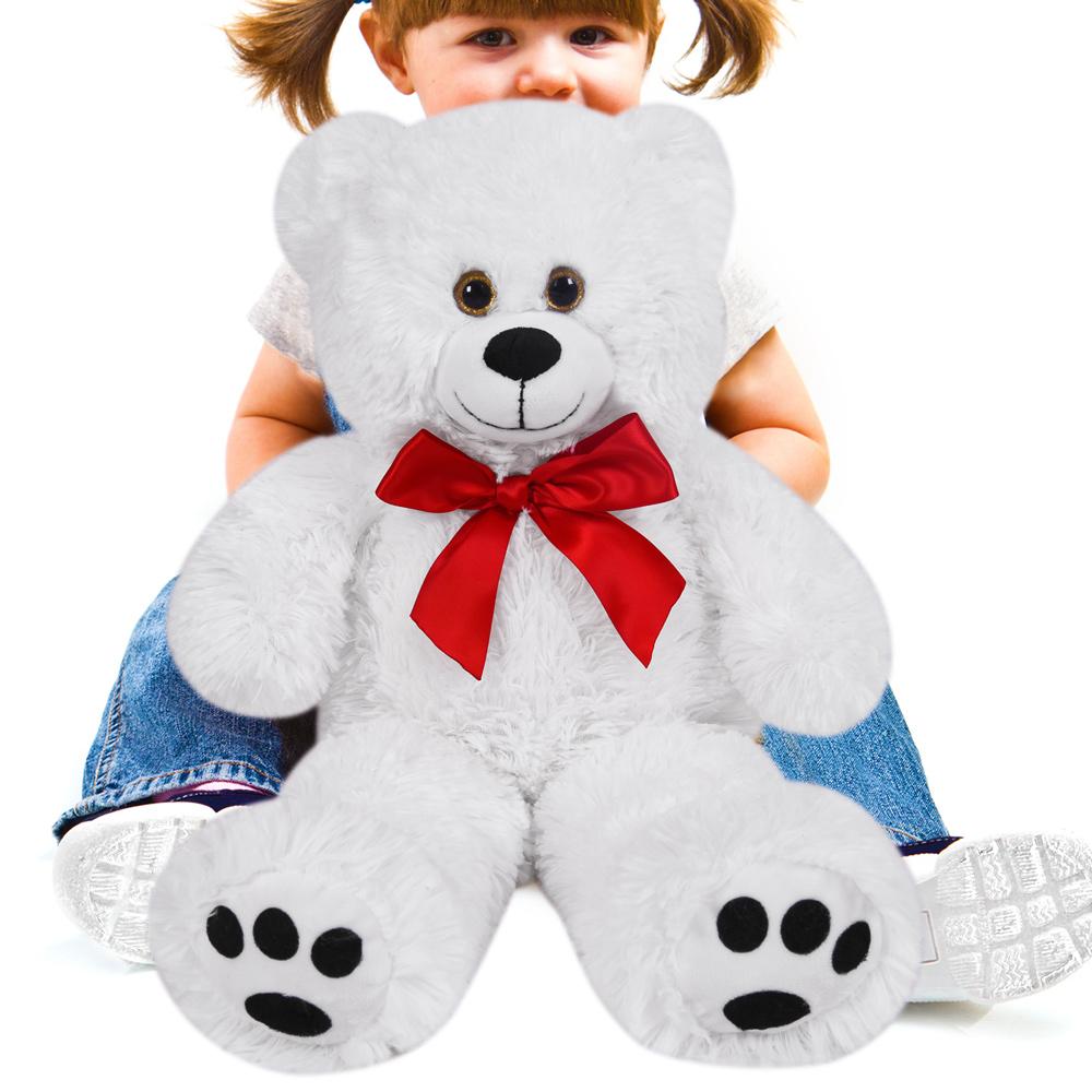 peluche nounours grand ours en peluche 50cm teddy bear. Black Bedroom Furniture Sets. Home Design Ideas