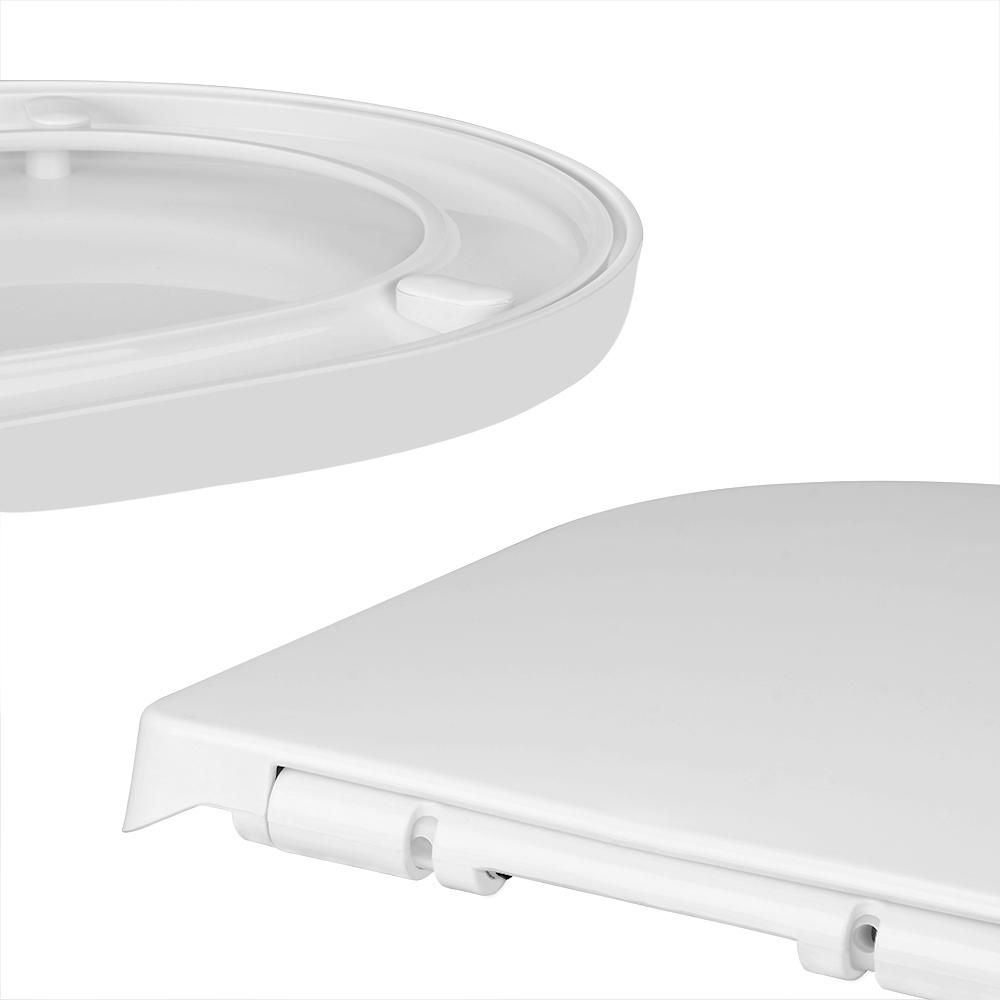 wc sitz toilettensitz brille deckel edelstahl absenkautomatik schnellmontage ebay. Black Bedroom Furniture Sets. Home Design Ideas
