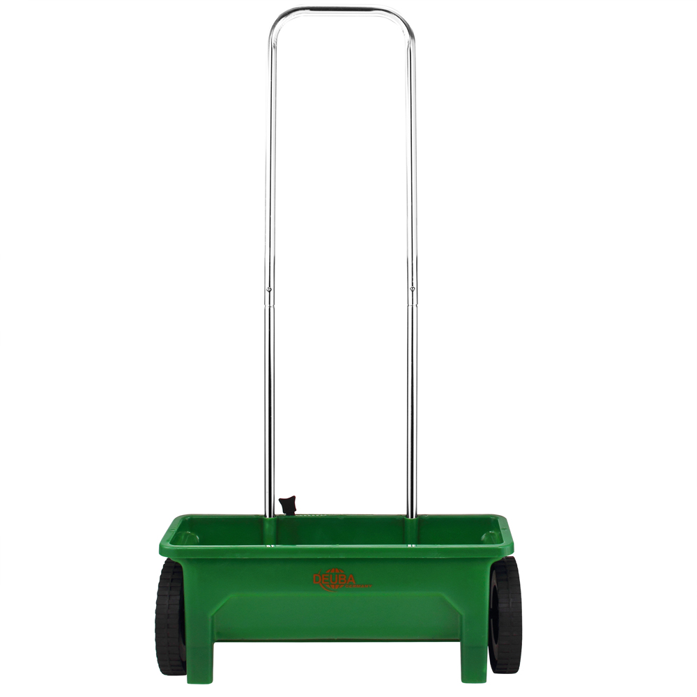 DEUBA® Streuwagen Salz 12L Saatgutstreuer Universal Streuer Rasen Split Saatgut