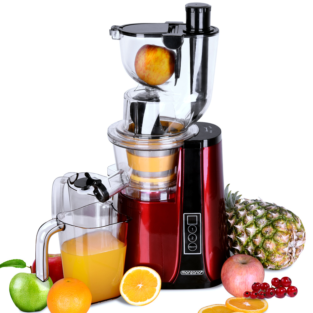 monzana entsafter slow juicer 500w saftpresse edelstahl fruchtpresse 60u min ebay. Black Bedroom Furniture Sets. Home Design Ideas