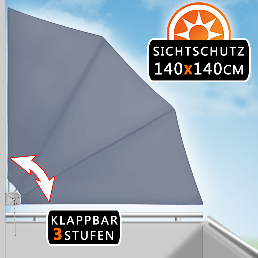 Balkonfächer Sichtschutz Windschutz Balkonsichtschutz Sonnenschutz