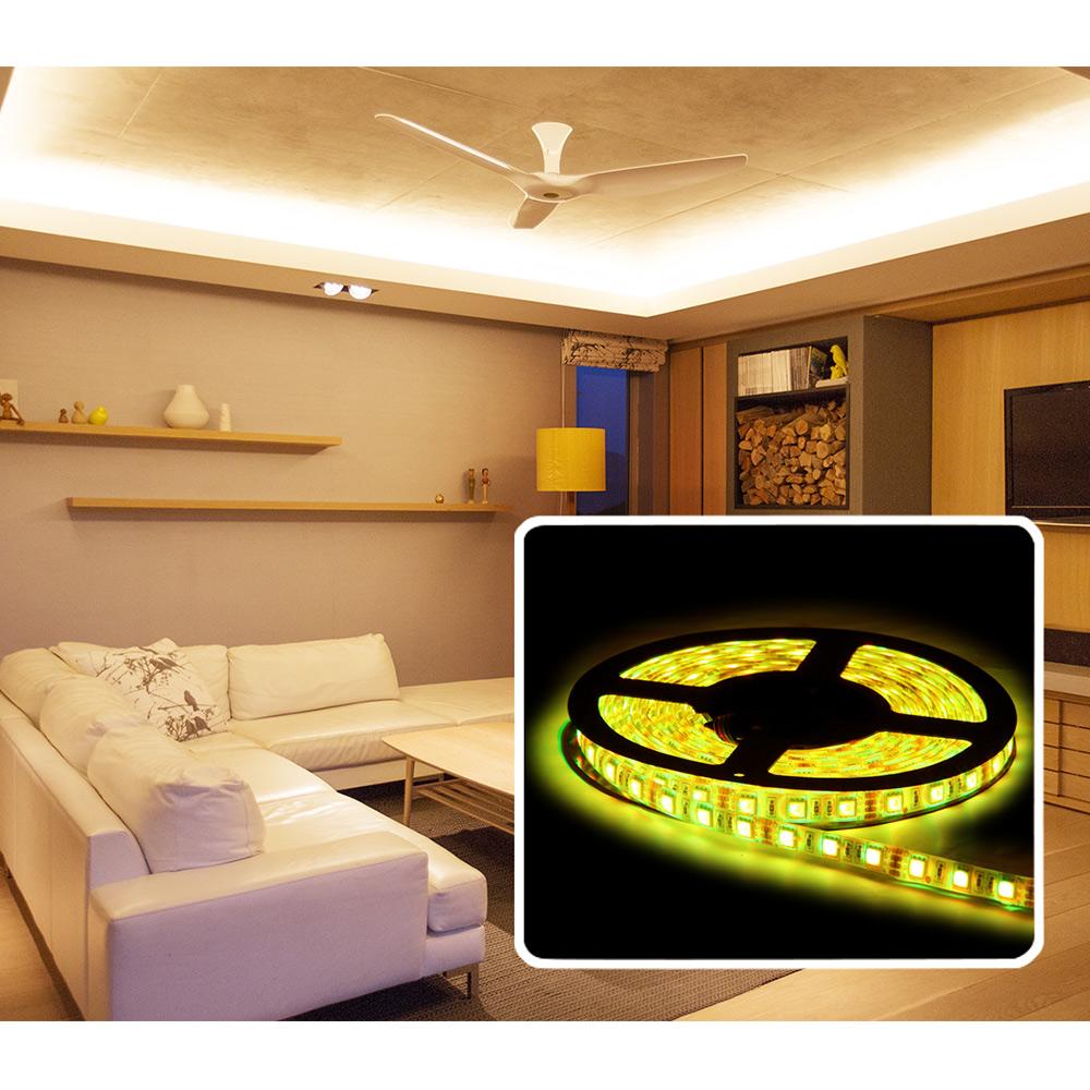 b ware 5m rgb 300x led stripe leiste streifen band lichter. Black Bedroom Furniture Sets. Home Design Ideas