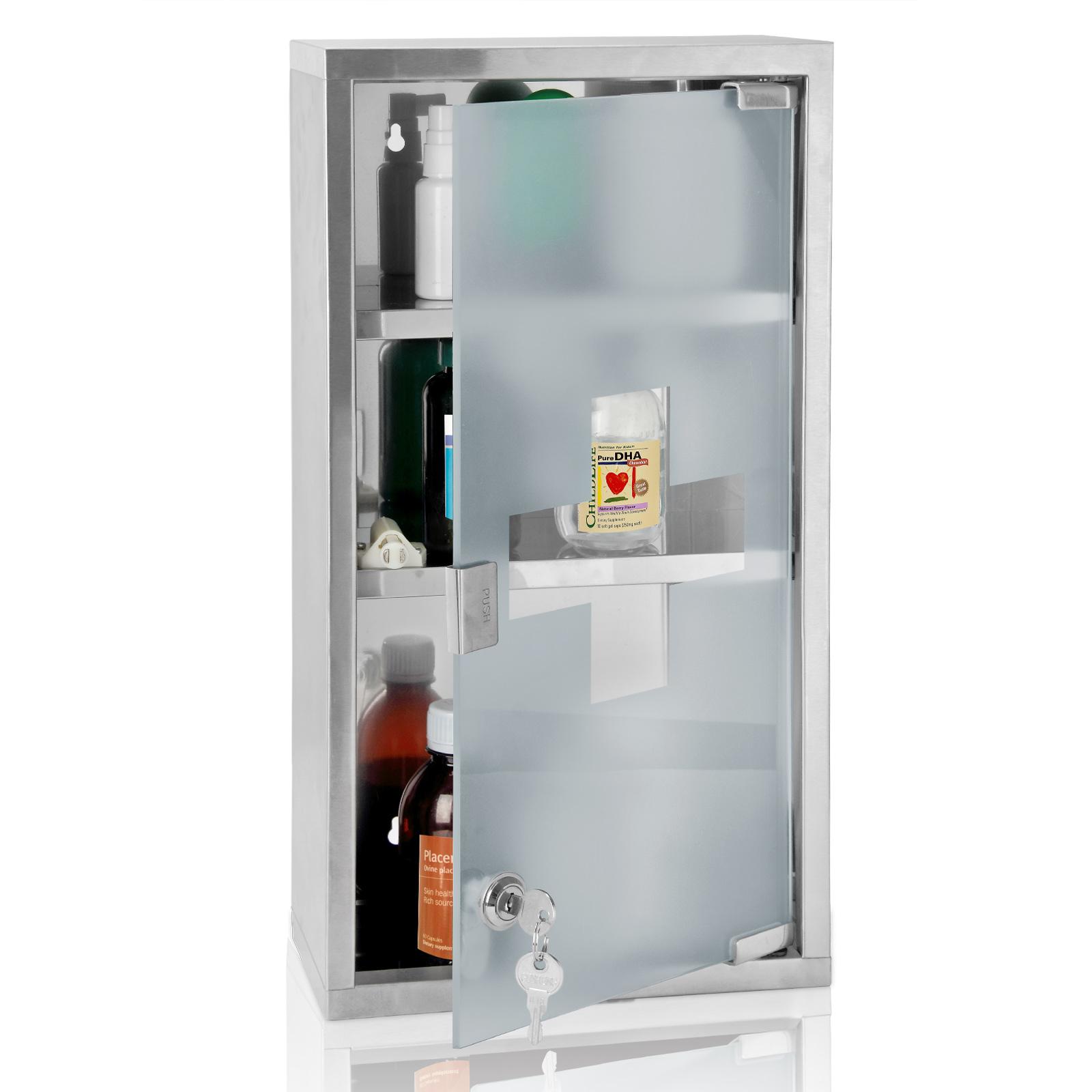 armoire pharmacie armoire m dicaments rangement premier secours avec cl s ebay. Black Bedroom Furniture Sets. Home Design Ideas