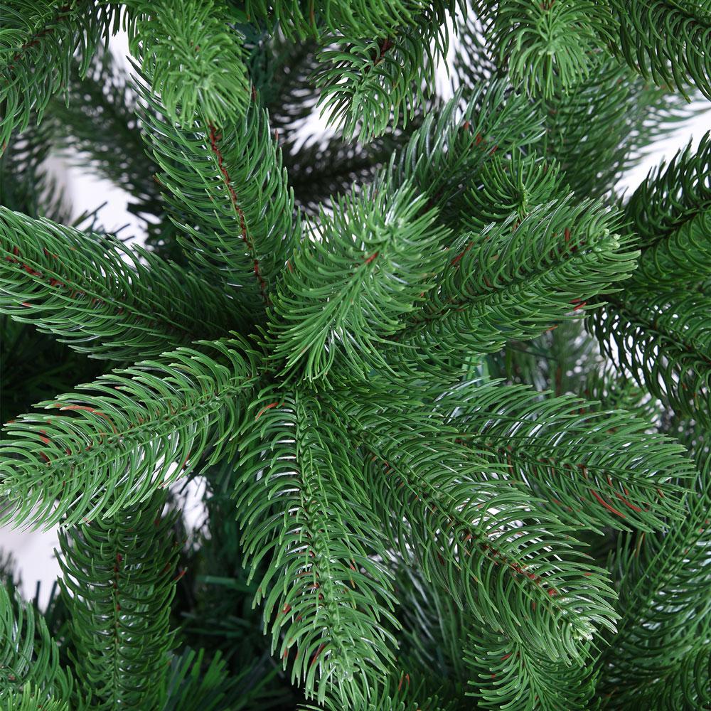 k nstlicher weihnachtsbaum 140cm spritzguss nadeln pe douglasie christbaum tanne ebay. Black Bedroom Furniture Sets. Home Design Ideas