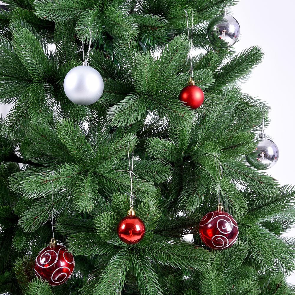 k nstlicher weihnachtsbaum pe edeltanne christbaum. Black Bedroom Furniture Sets. Home Design Ideas