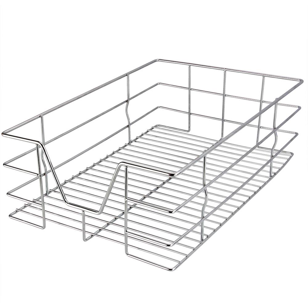 b ware teleskop schublade k chenschublade korbauszug schrankauszug k che 30 cm ebay. Black Bedroom Furniture Sets. Home Design Ideas