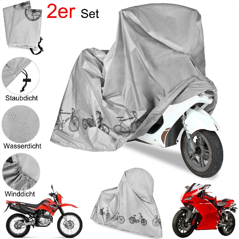 88105476 Motorrad Abdeckungen - 2er Set