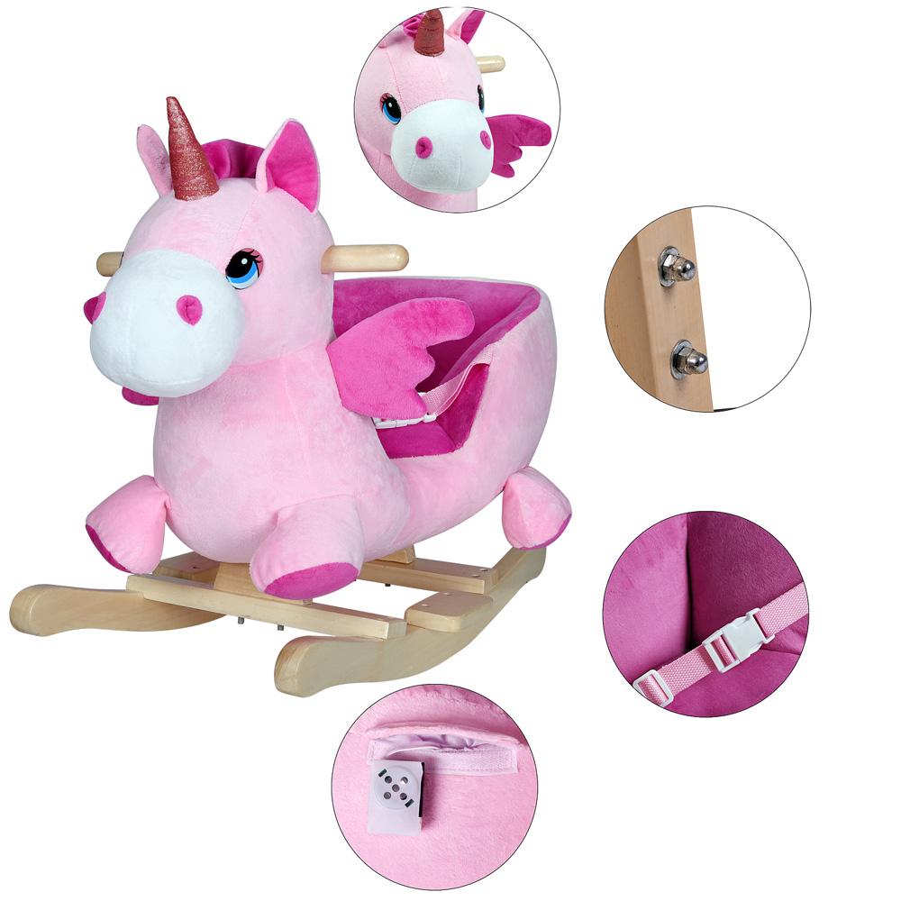 schaukeltier schaukelpferd pl sch schaukelspielzeig wippe kinder baby spielzeug ebay. Black Bedroom Furniture Sets. Home Design Ideas