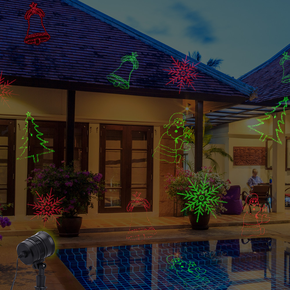 deuba led laser projektor lampe lichteffekt strahler. Black Bedroom Furniture Sets. Home Design Ideas