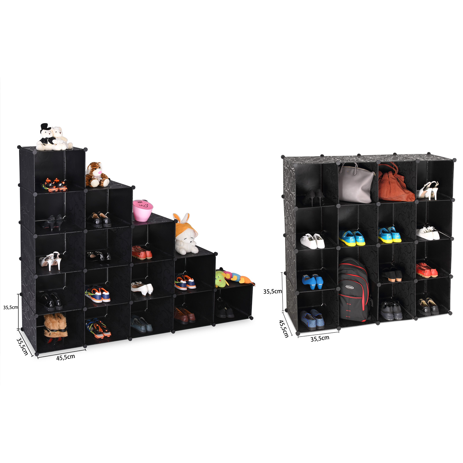 kleiderschrank diy schrank regalsystem steckregal badregal. Black Bedroom Furniture Sets. Home Design Ideas