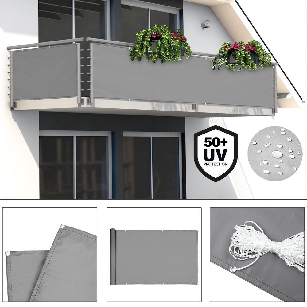 Balkon Sichtschutz Balkonbespannung Balkonsichtschutz