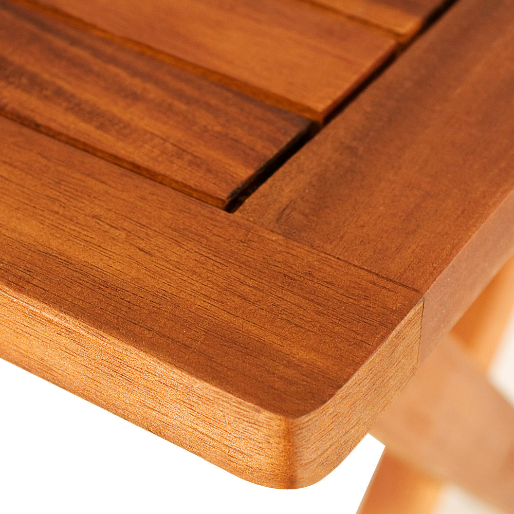 Klapptisch akazie beistelltisch holztisch gartentisch for Holztisch beistelltisch