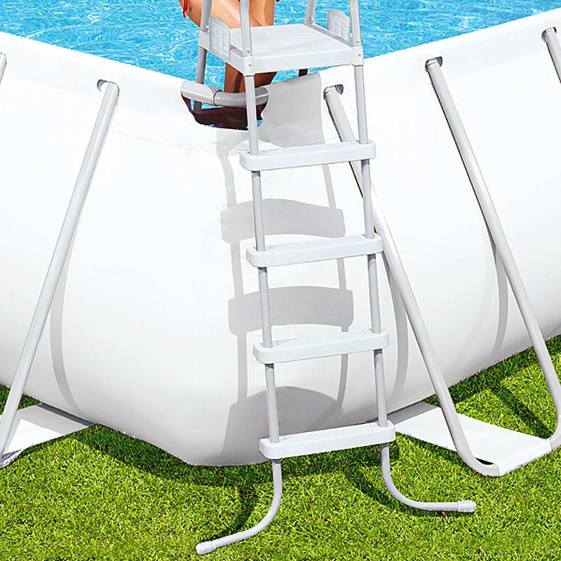 bestway xxl frame pool schwimmbecken swimming stahlrahmen. Black Bedroom Furniture Sets. Home Design Ideas