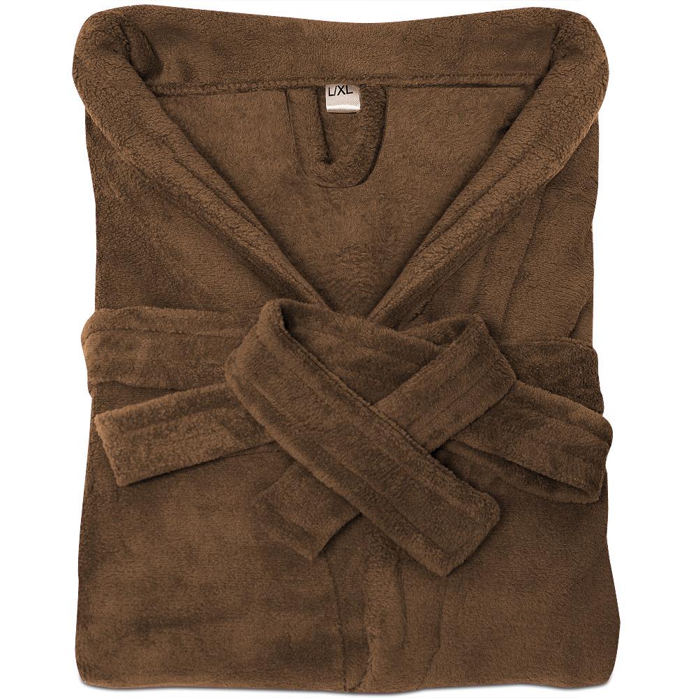 bademantel saunamantel morgenmantel microfaser unisex damen herren bad mantel ebay. Black Bedroom Furniture Sets. Home Design Ideas