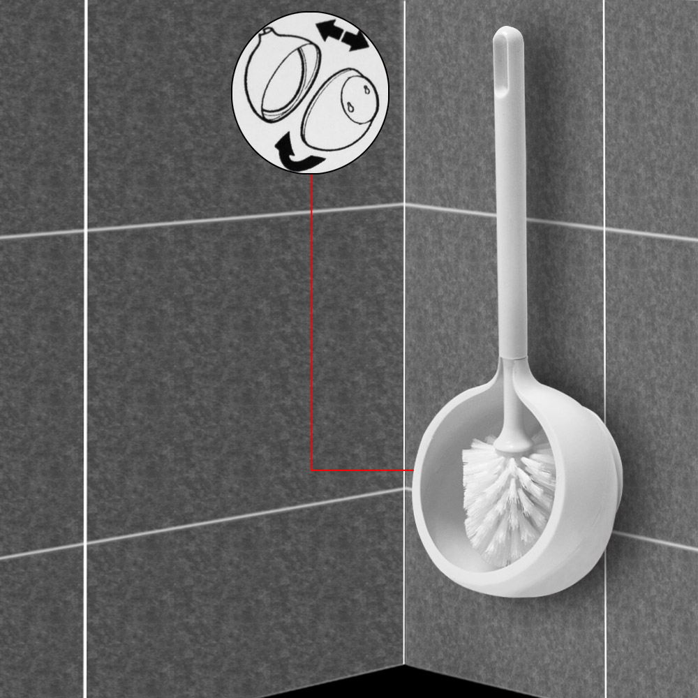 Tiger wc b rste toilettenb rste 3er set inkl - Wc burste wandmontage ...