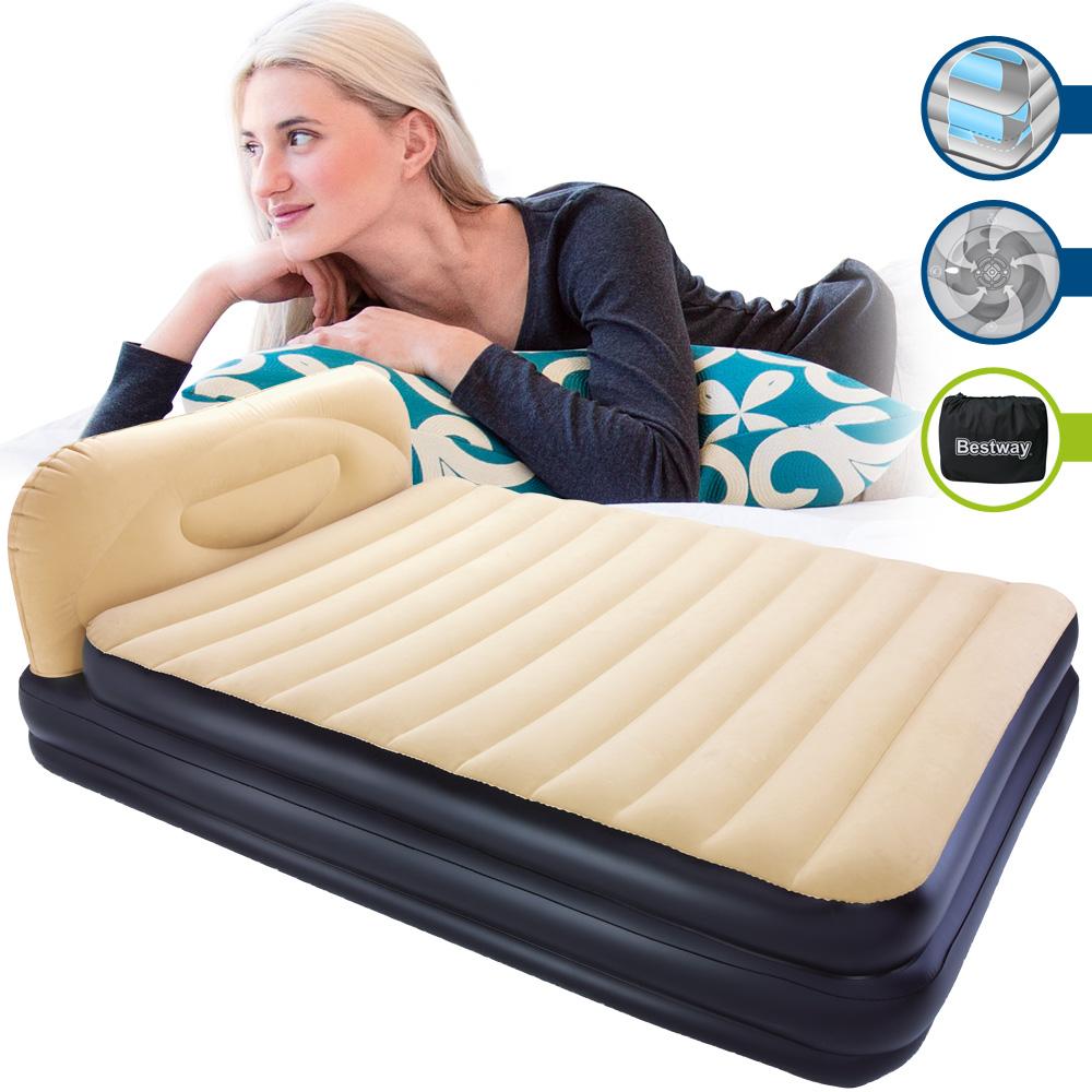 bestway luftbett luftmatratze g stebett doppelbett reisebett matratze g ste bett ebay. Black Bedroom Furniture Sets. Home Design Ideas