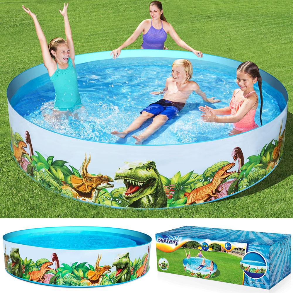 Bestway kinder pool planschbecken schwimmbecken schwimmbad for Pool designs under 50 000