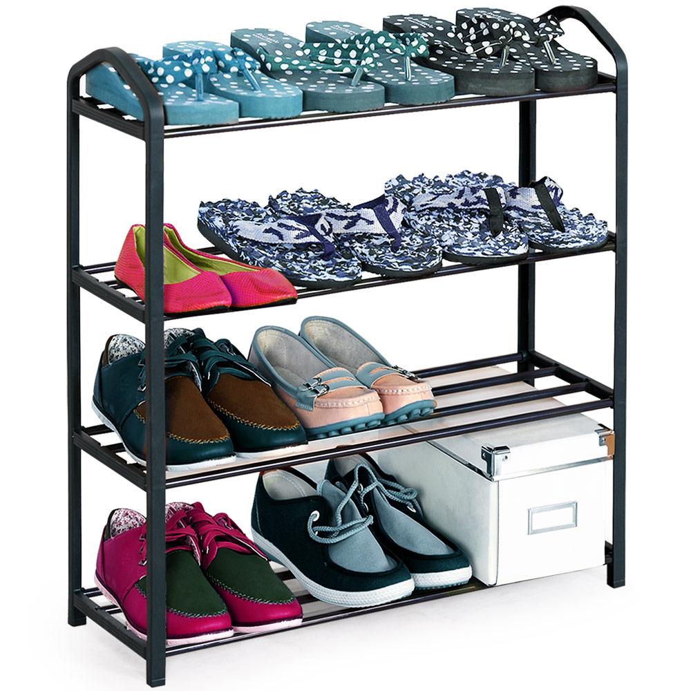 schuhregal schuhe regal schuhschrank schuhst nder garderobe schuhablage bad ebay. Black Bedroom Furniture Sets. Home Design Ideas