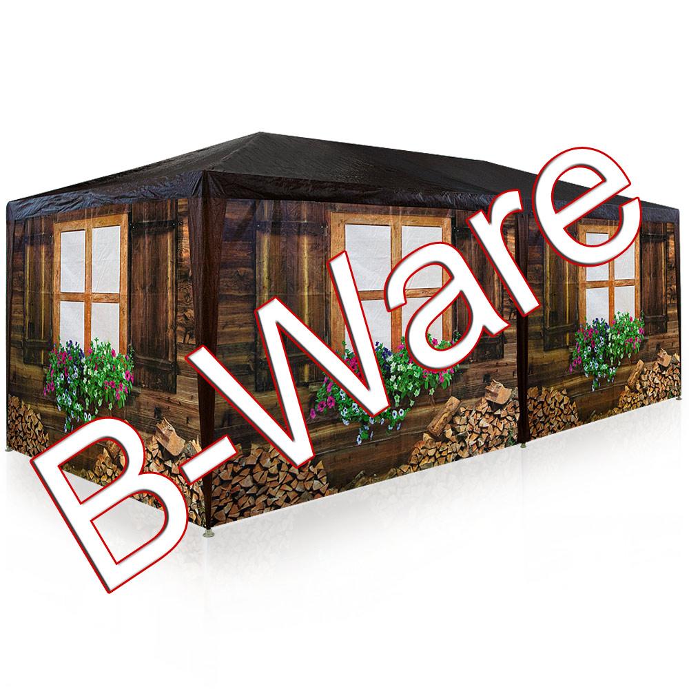 b ware oktoberfest zelt garten pavillon 3x6 wiesn partyzelt festzelt bierzelt ebay. Black Bedroom Furniture Sets. Home Design Ideas