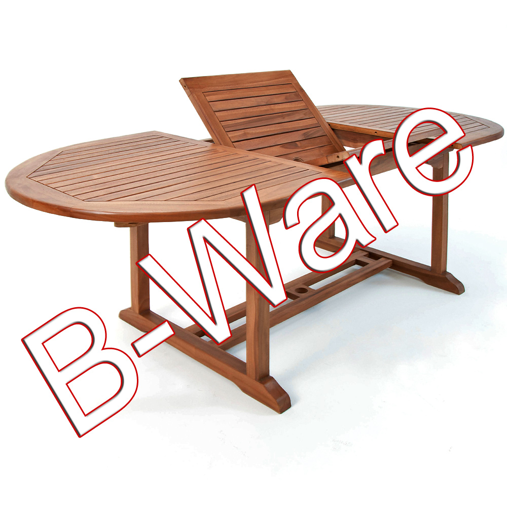 b ware tisch vanamo garten gartenm bel holz holztisch gartentisch ebay. Black Bedroom Furniture Sets. Home Design Ideas