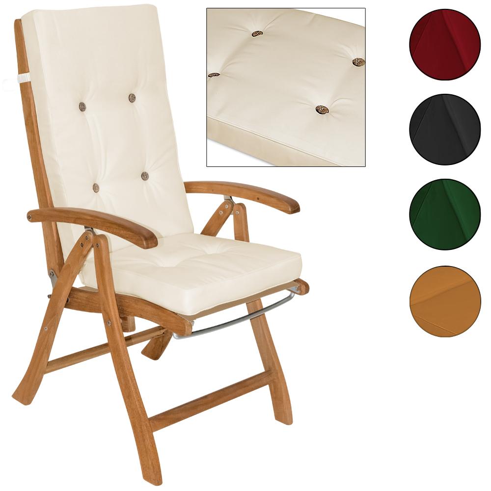 detex sitzkissen 4x stuhlauflage sitz auflage kissen. Black Bedroom Furniture Sets. Home Design Ideas