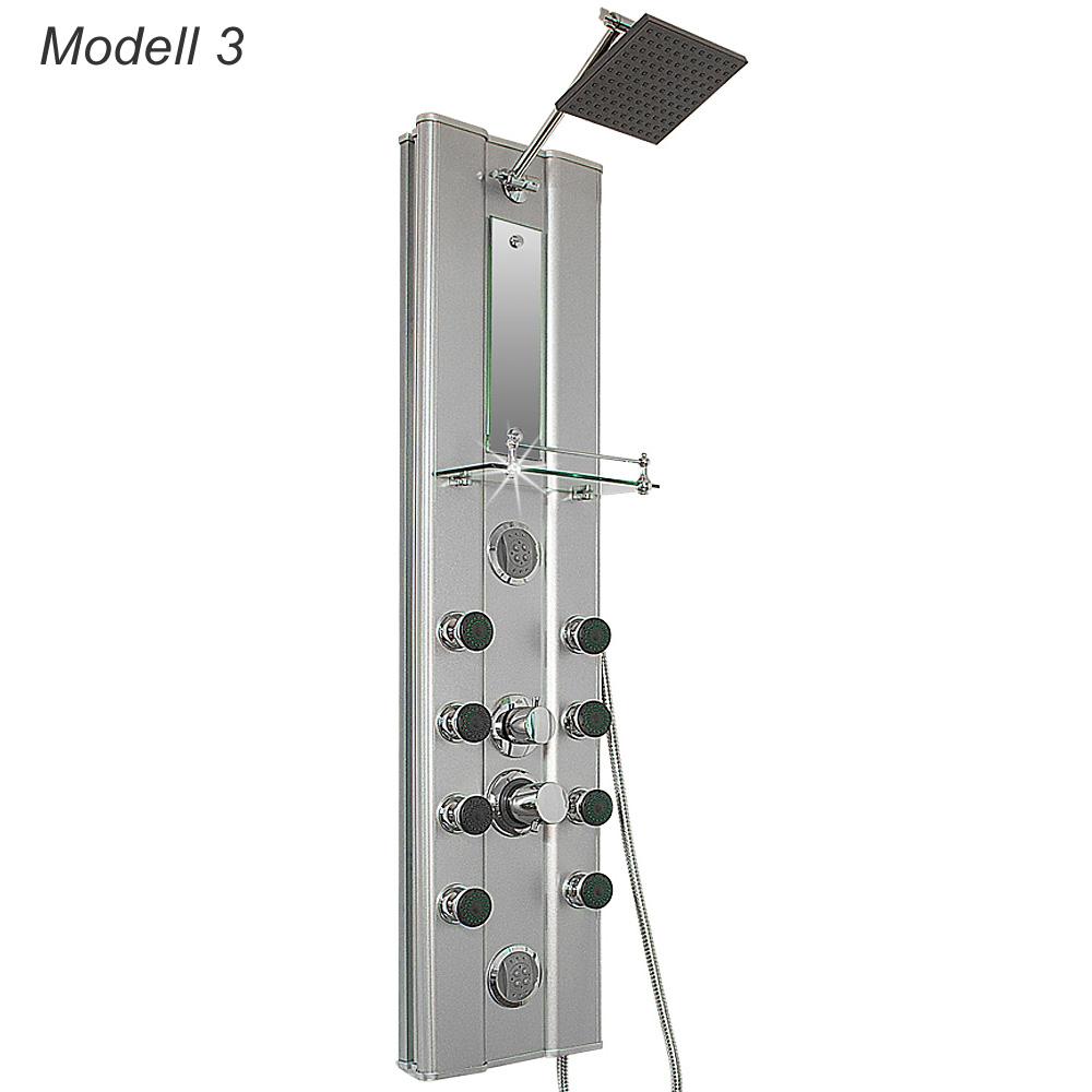 colonne de douche moderne et l gante pour salle de bain en 3 mod le diff rents ebay. Black Bedroom Furniture Sets. Home Design Ideas