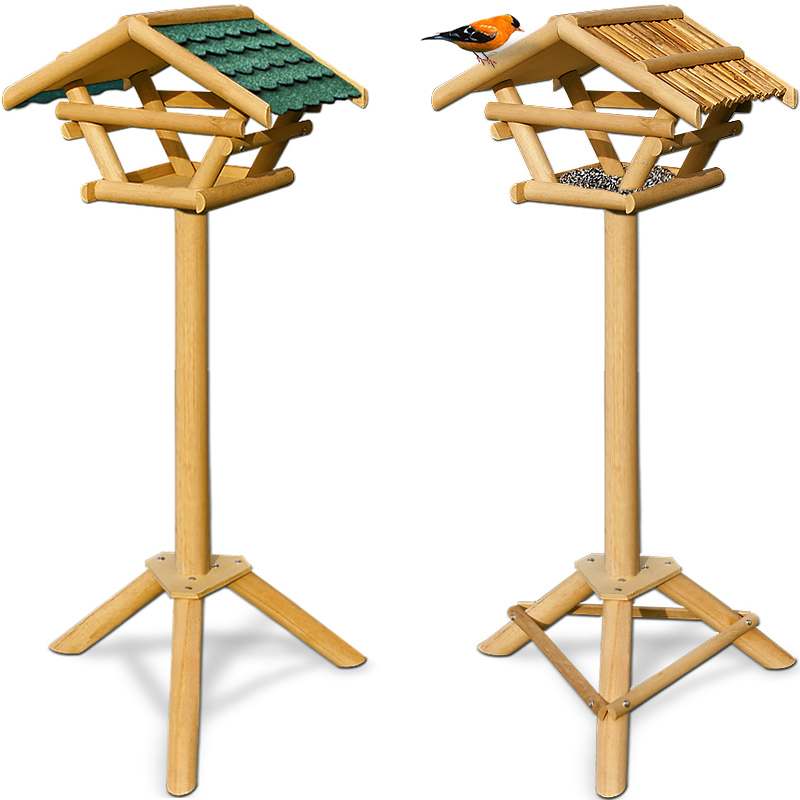 vogelhaus vogelh uschen vogelfutterhaus vogelfutterspender vogel st nder villa ebay. Black Bedroom Furniture Sets. Home Design Ideas