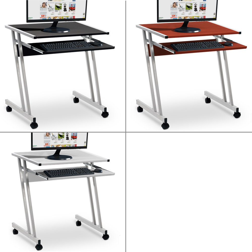 Bureaux Et Tables D Ordinateur Noir Pour La Maison Ebay # Meuble Informatique Avec Ecran Retractable Electrique