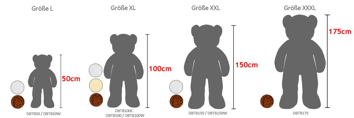 Teddy Maße