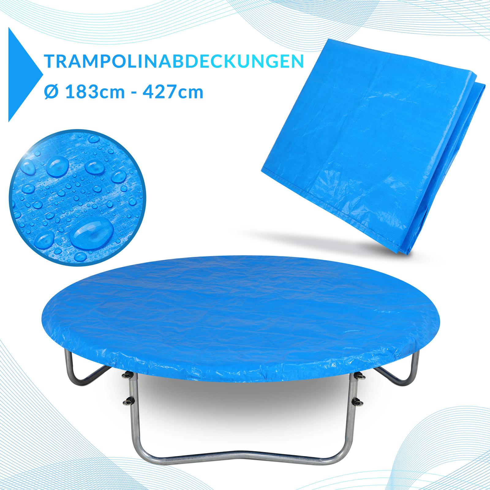 abdeckung trampolin 244 426cm abdeckplane plane h lle regenschutz wetterplane ebay. Black Bedroom Furniture Sets. Home Design Ideas