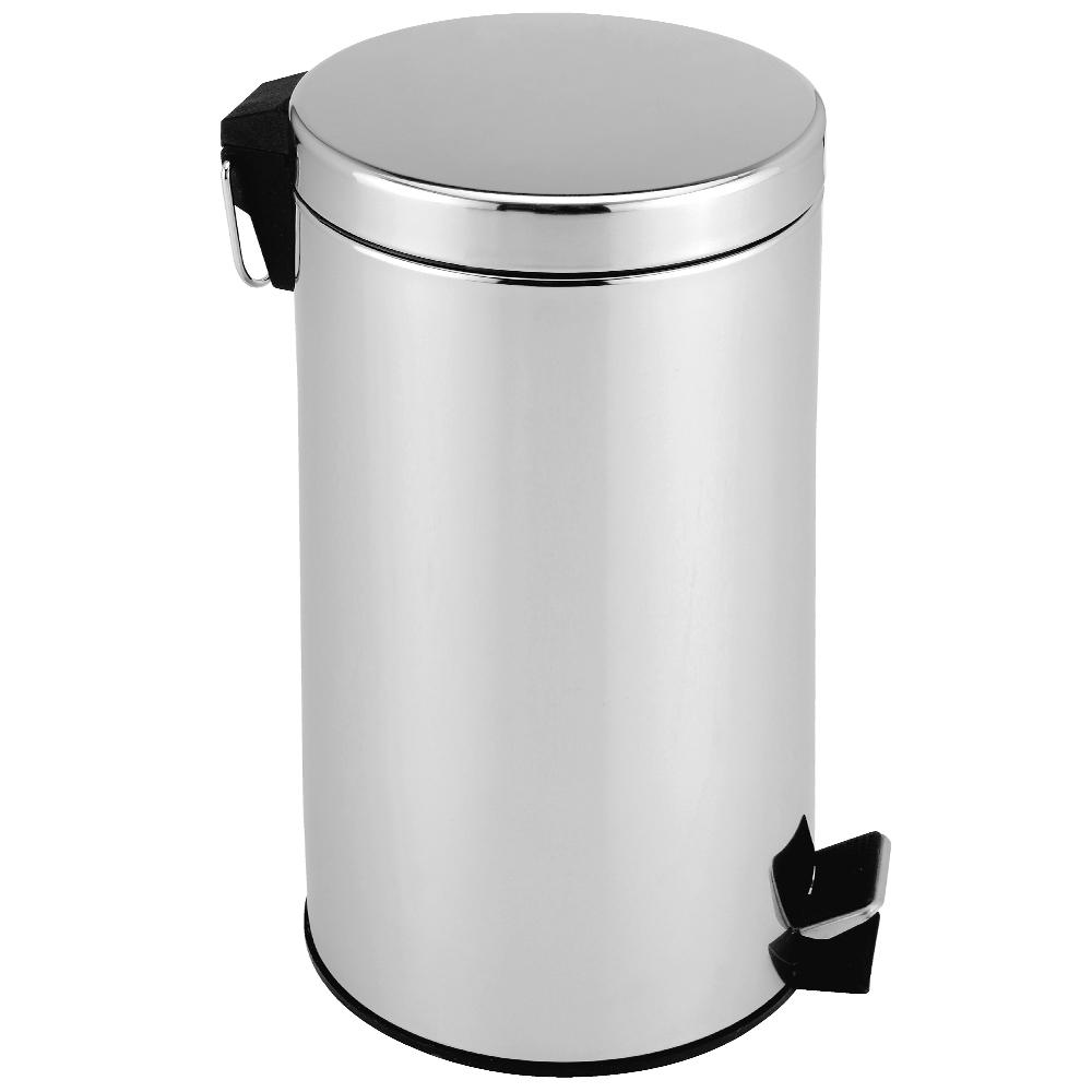 Pedal Waste Bin Stainless Steel Rubbish Kitchen Bathroom