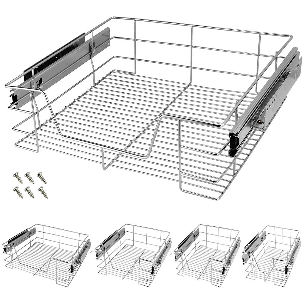 teleskop schublade k chenschublade korbauszug. Black Bedroom Furniture Sets. Home Design Ideas