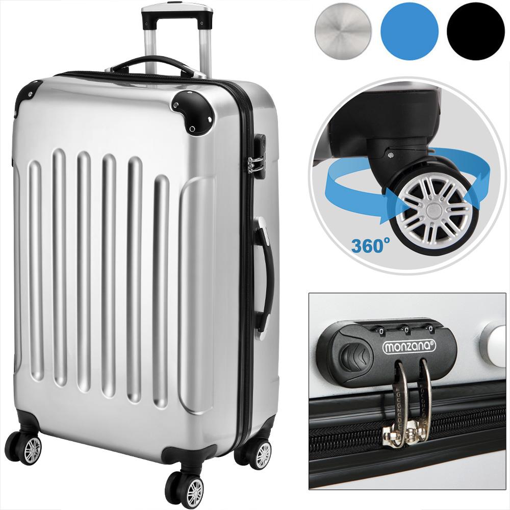 valise rigide bagage cadenas roulettes jumelles trolley premium solo ebay. Black Bedroom Furniture Sets. Home Design Ideas